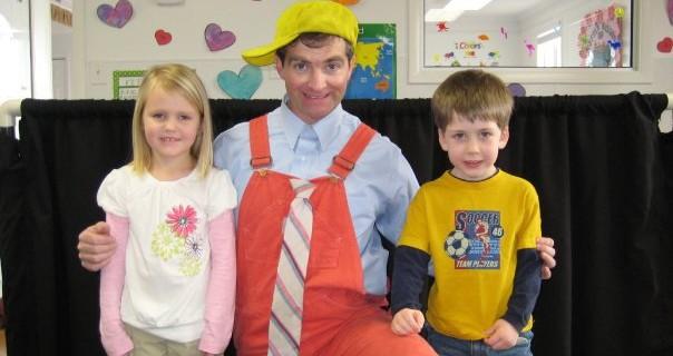 a day at a preschool.